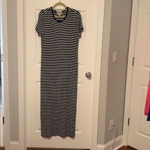 Maxi striped Michael Michael kors dress.